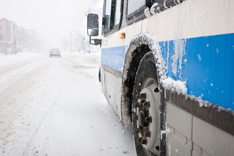 Внимание! Из-за погоды в Кузбассе возможна задержка и отмена автобусных рейсов