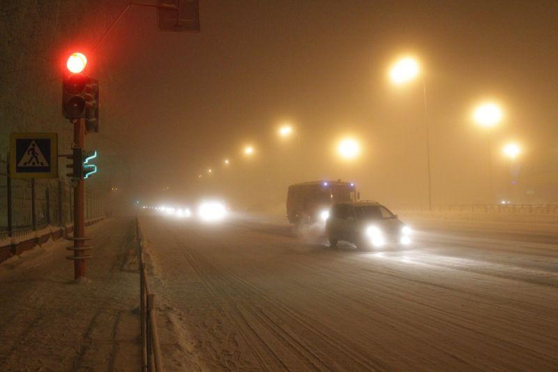 Полиция Кузбасса предупреждает водителей об ухудшении видимости на дорогах