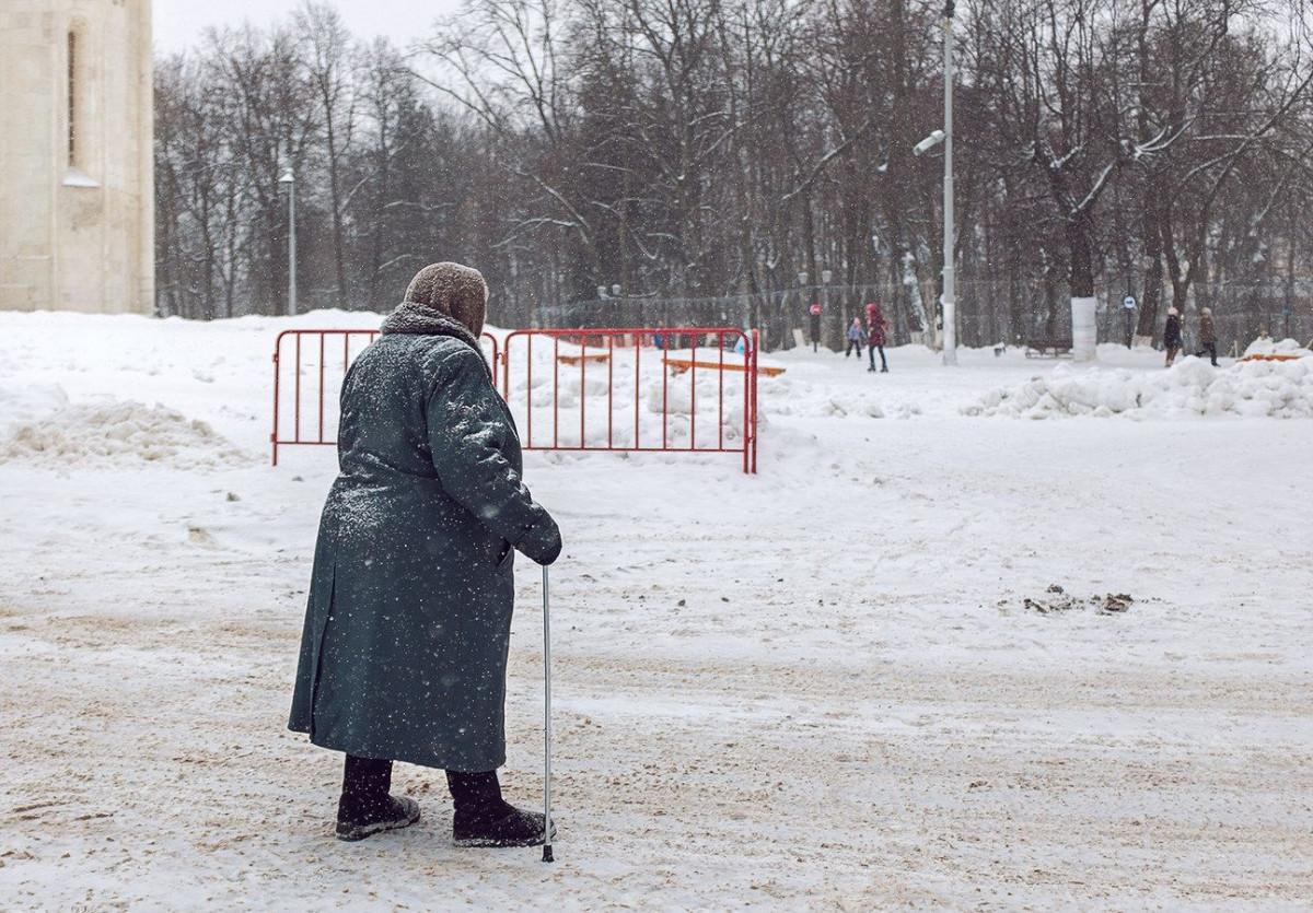 В Кузбассе пенсионерка забыла дорогу домой и едва не замерзла