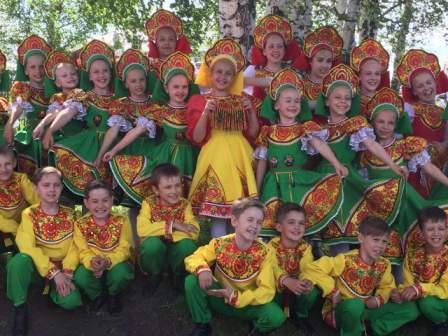 Прокопьевский ансамбль покорил жюри Международного фестиваля-конкурса