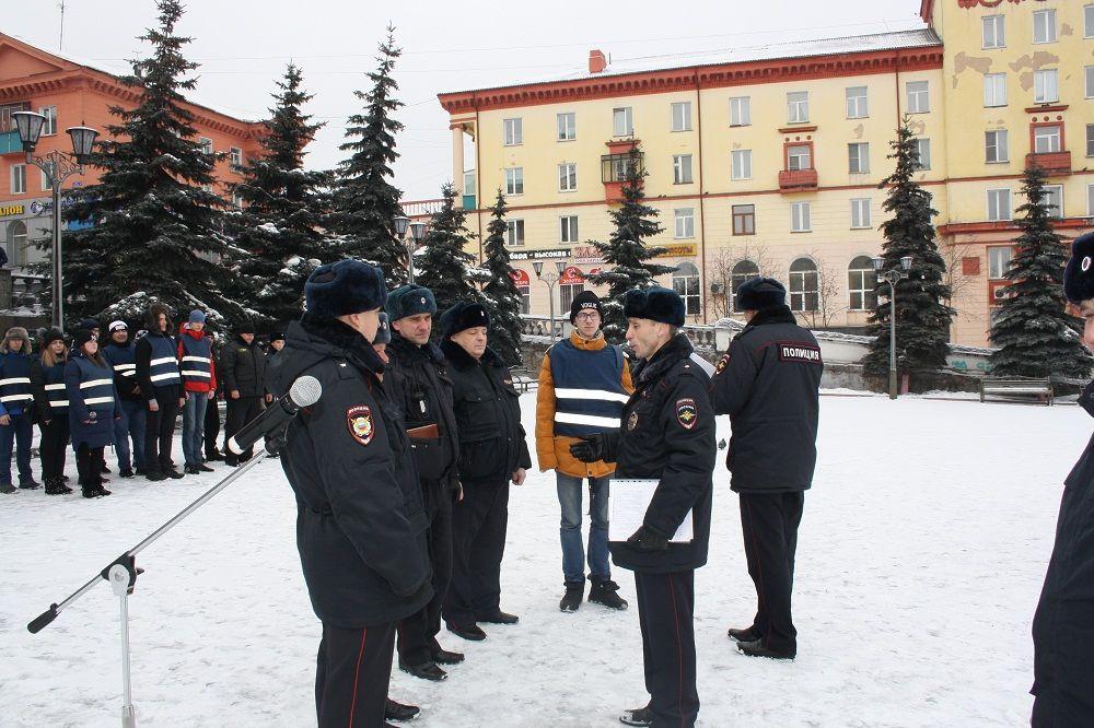 В Прокопьевске полицейские продемонстрировали свою готовность к несению службы