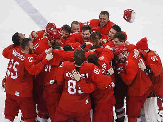 Как МОК отреагировал на исполнение хоккеистами гимна России на Олимпиаде
