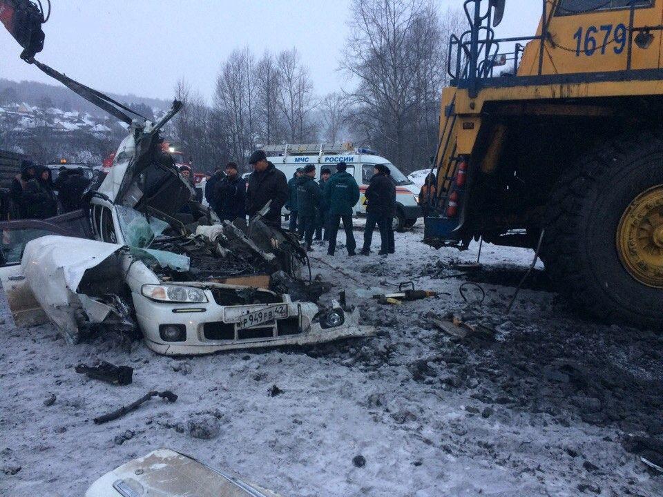 В Кузбассе возбуждено уголовное дело по факту ДТП с двумя погибшими