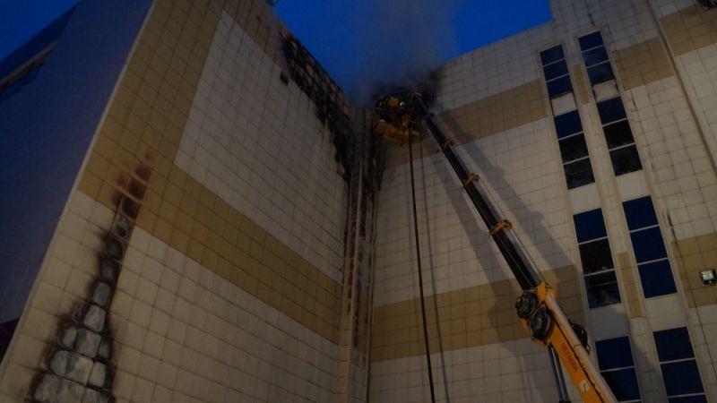 МЧС: Найдены все, кто считался пропавшим без вести при пожаре в ТРЦ Кемерова