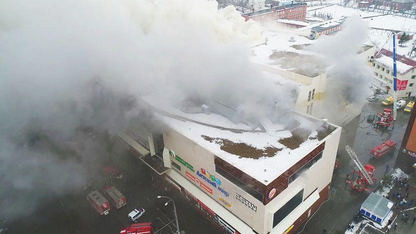 """Пожарные рассказали о спасательной операции в """"Зимней вишне"""": """"Начиная со второго этажа продвигались ползком"""" (сюжет)"""