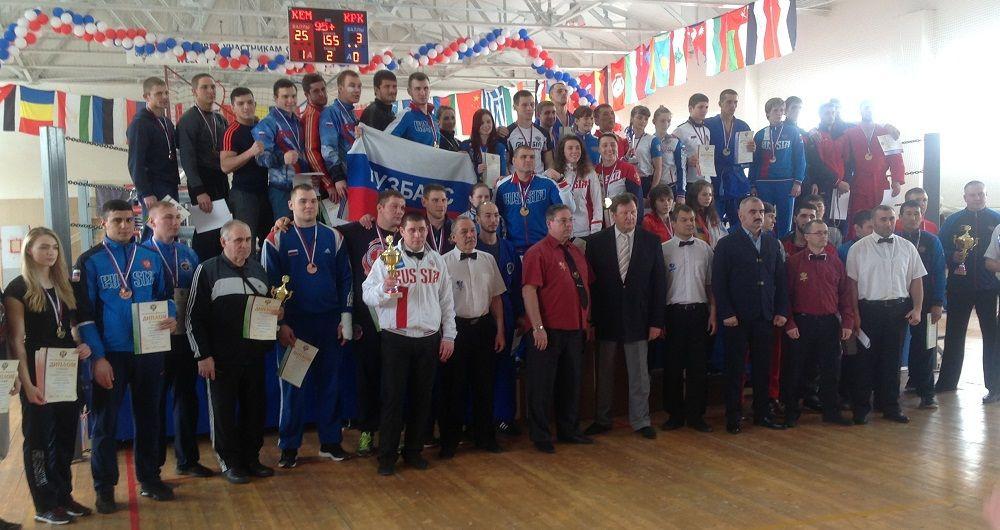 Прокопьевские универсальные бойцы выступили на чемпионате России