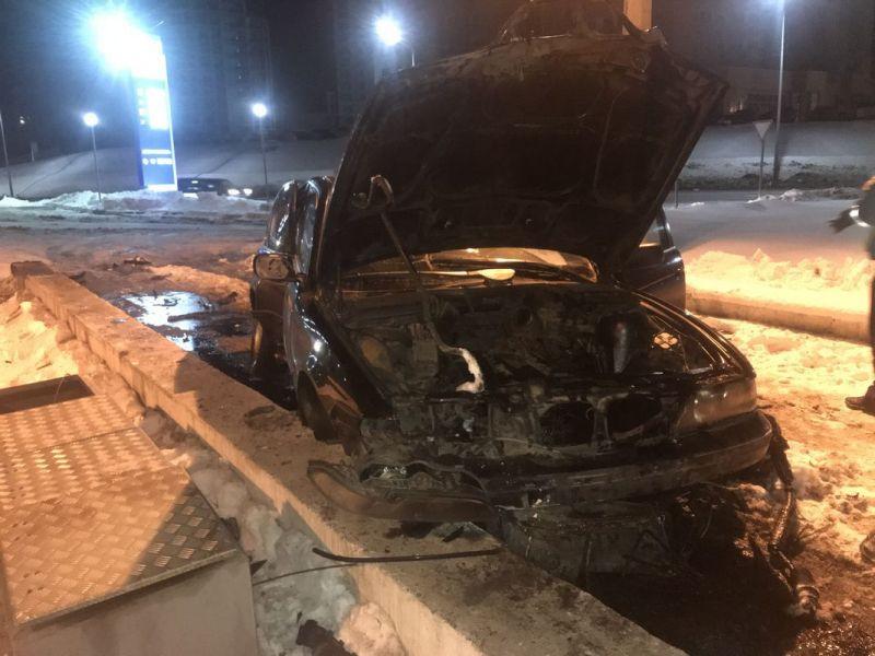 Кузбассовец попал в серьезное ДТП, пытаясь скрыться от экипажа ГИБДД