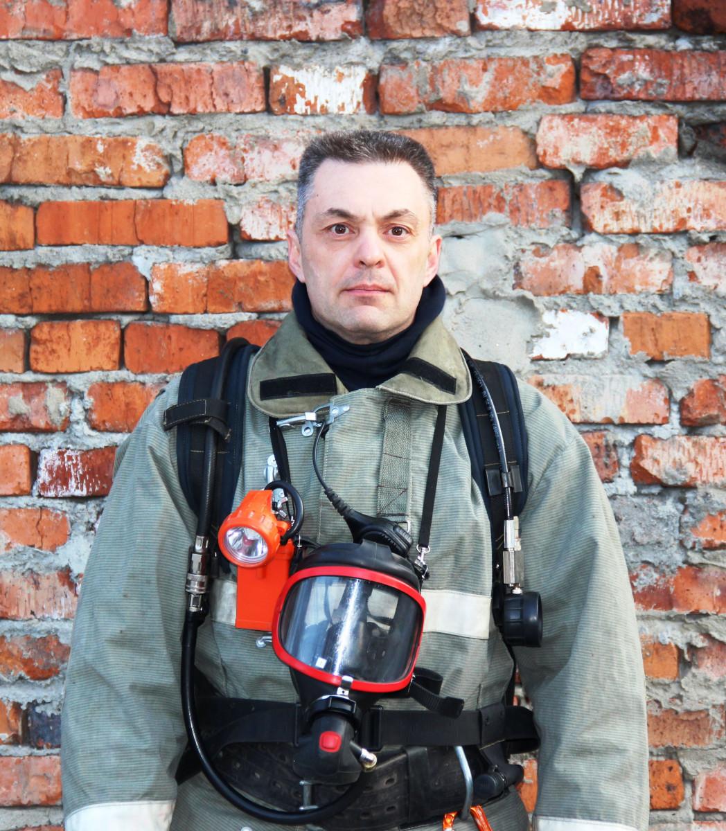 """Эдуард Альтмаер: """"Незащищенному человеку очень сложно выжить во время современного пожара"""""""