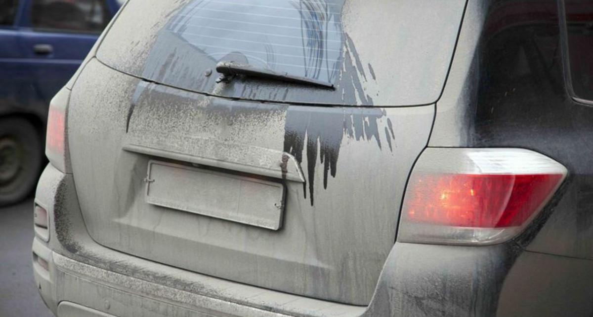 ГИБДД Прокопьевского района предупреждает водителей: грязный номер – повод для штрафа