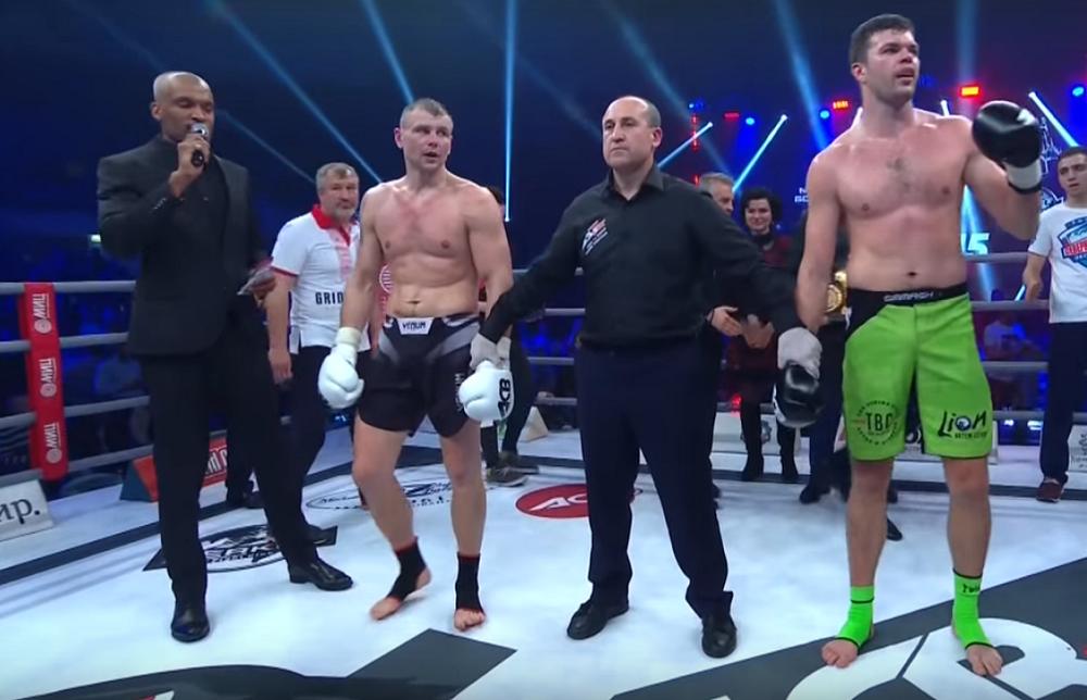 Прокопчанин Артем Левин провел титульный бой с белорусом Игорем Бугаенко (видео)