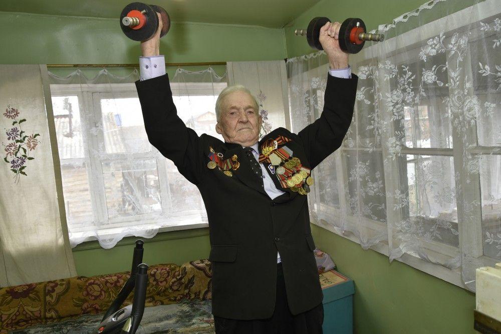 Кузбассовец в 95 лет доказал, что старость - это не возраст, а отношение к жизни
