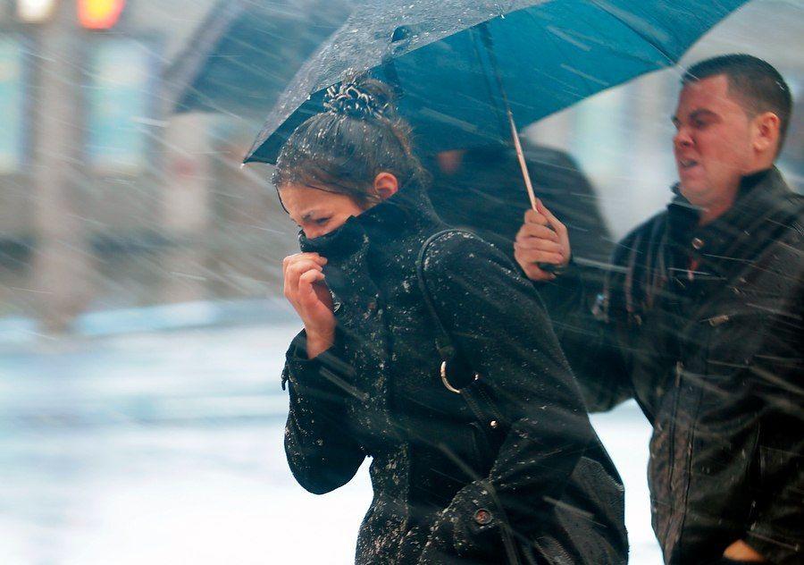 Синоптики предупреждают о похолодании со снегом, дождем и сильным ветром