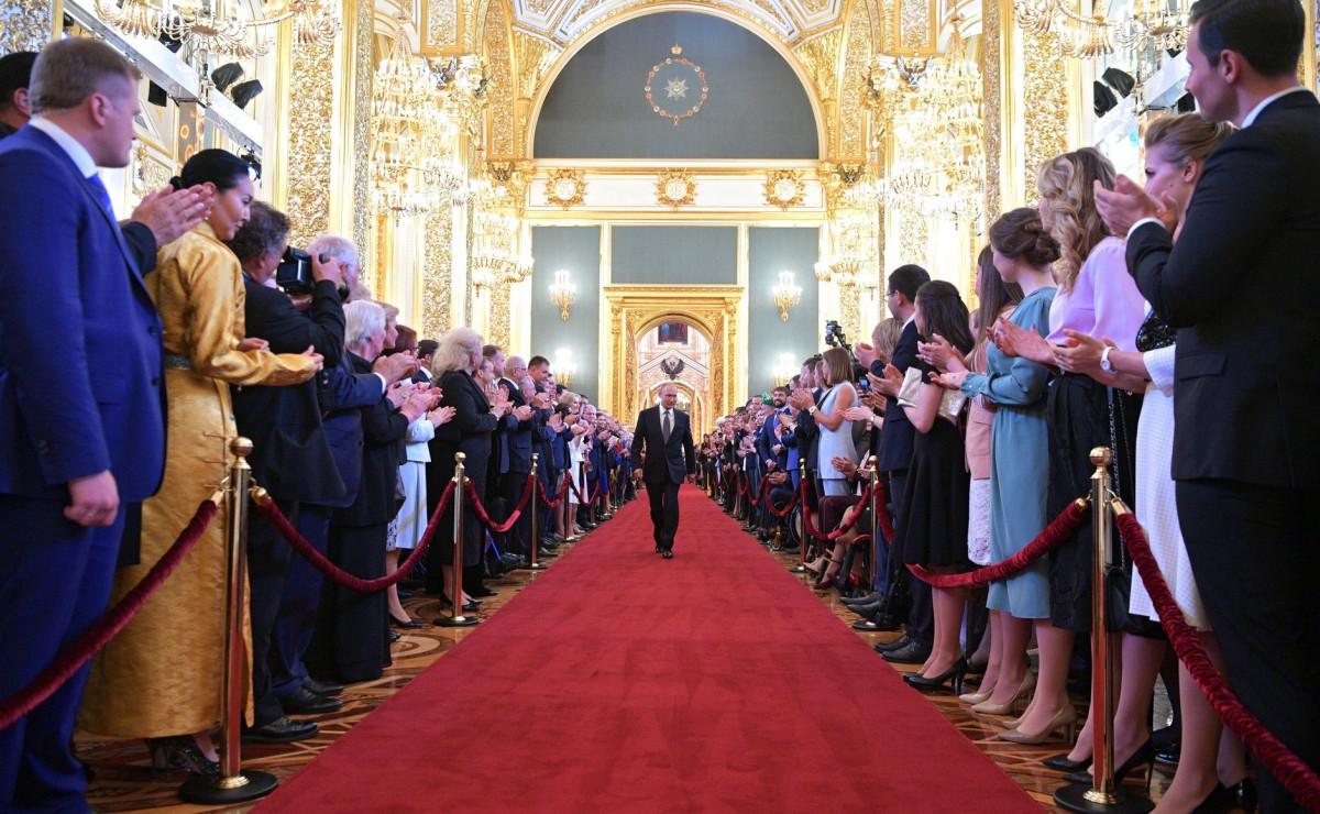 Сергей Цивилев принял участие в инаугурации президента РФ Владимира Путина