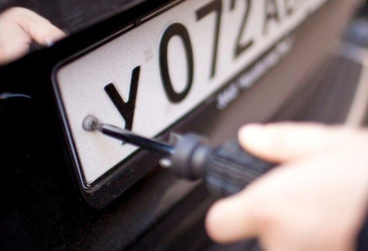 В России в госномера автомобилей планируют встроить чипы