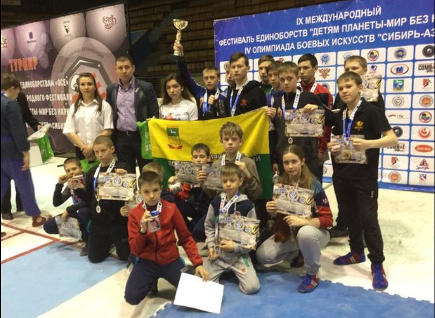 Прокопьевские универсальные бойцы на Всероссийских соревнованиях завоевали 16 медалей