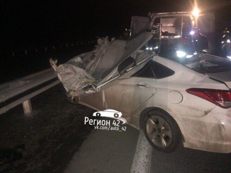 Смертельное ДТП произошло на трассе Кузбасса: сначала сбили лося, а затем погибли люди