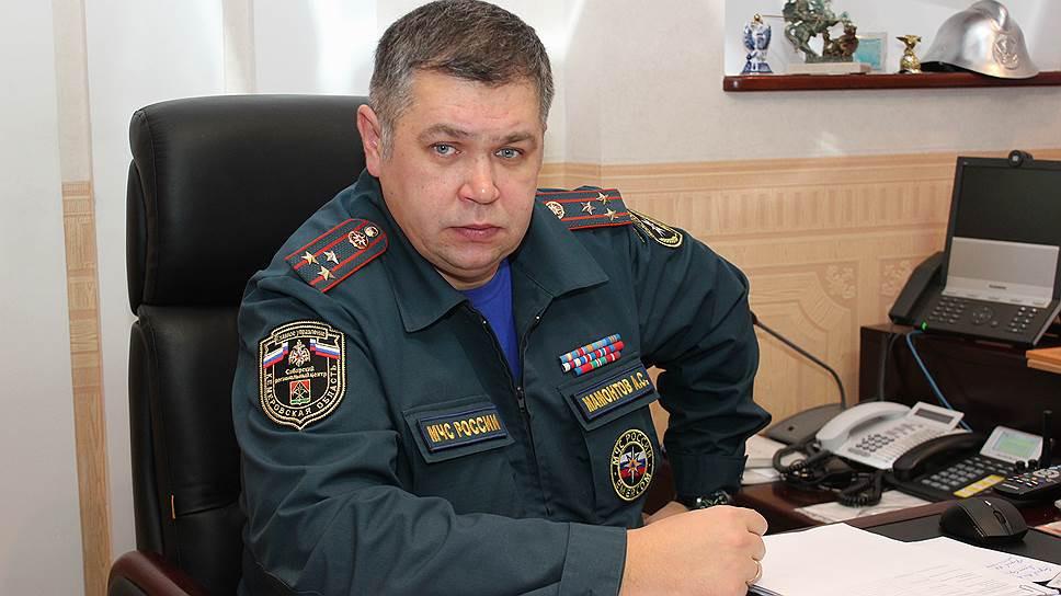 Глава МЧС Кузбасса подал рапорт на увольнение
