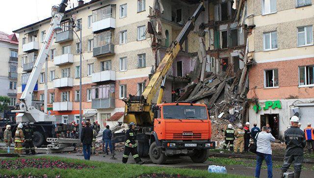Уголовное дело об обрушении подъезда жилого дома в Междуреченске направлено в суд (видео)