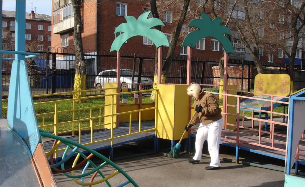Безопасность детских игровых площадок проверили в Прокопьевске