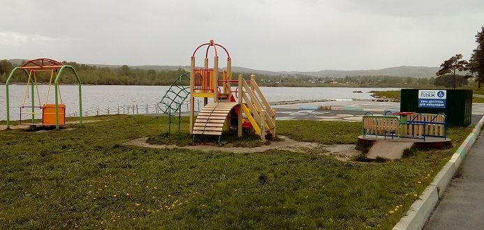 В Прокопьевске начали работу 4 места отдыха у воды