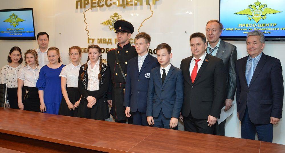 Прокопчанка вошла в число победителей регионального конкурса сочинений об истории российской полиции
