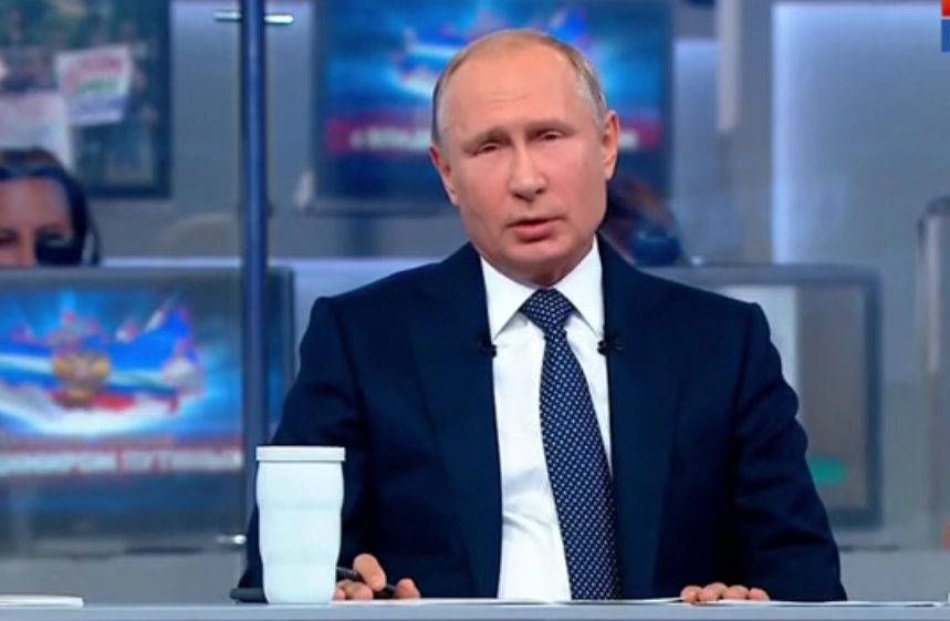 Владимир Путин рассказал, как будет остановлен рост цен на бензин