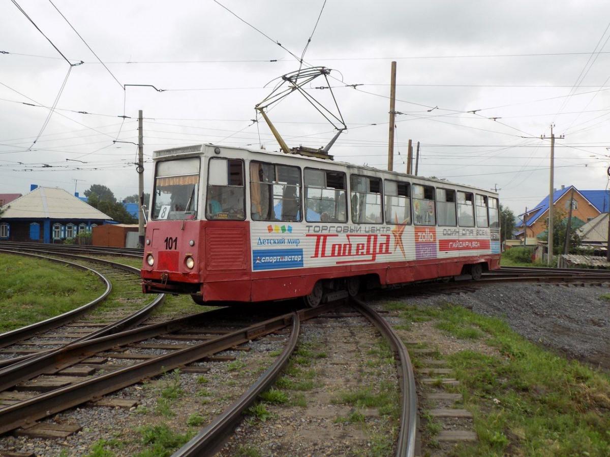 В Прокопьевске открыт новый трамвайный маршрут