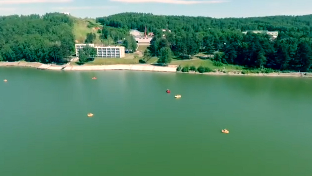 Зенковский парк сняли с высоты птичьего полета: смотрим и гордимся!