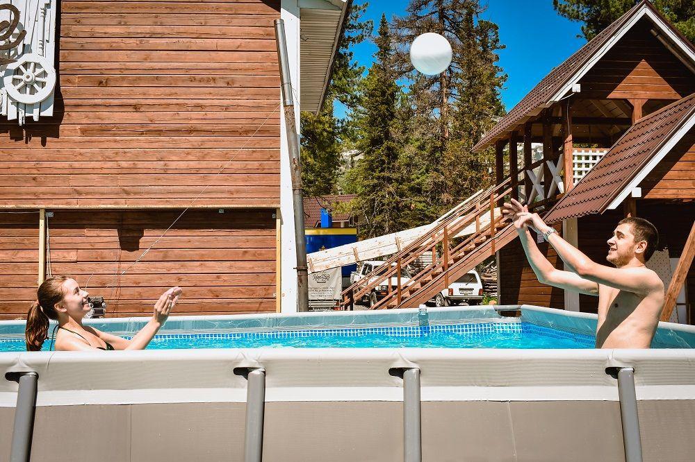 Ещё один отель в Шерегеше открыл собственный бассейн