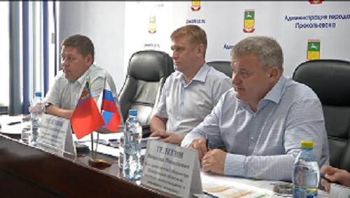 В Прокопьевске с рабочим визитом побывал и.о. замгубернатора по жилищно-коммунальному и дорожному комплексу