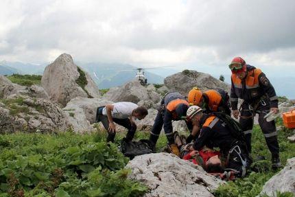 Спасатели отмечают всплеск происшествий с туристами