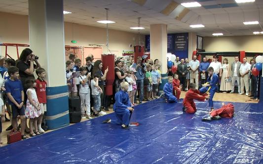 В Прокопьевске открыт новый зал для занятий универсальным боем