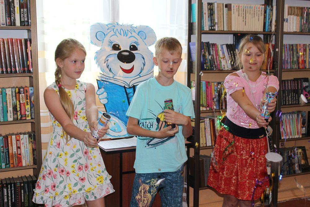 В Прокопьевске детская библиотека отметила новоселье