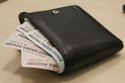 В Прокопьевске полицейские помогли горожанке вернуть утерянный кошелек с деньгами