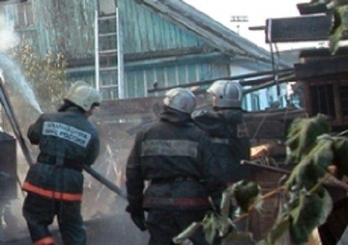 В Прокопьевске при пожаре погиб пенсионер