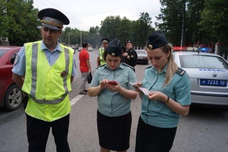 В Прокопьевске инспекторы ГИБДД и судебные приставы проводят совместные рейды
