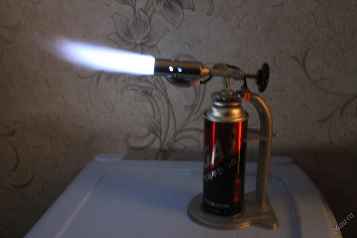 У прокопчанина в руках взорвалась паяльная лампа
