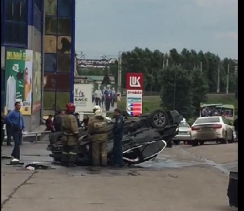 Жесткое ДТП произошло в Центре Прокопьевска