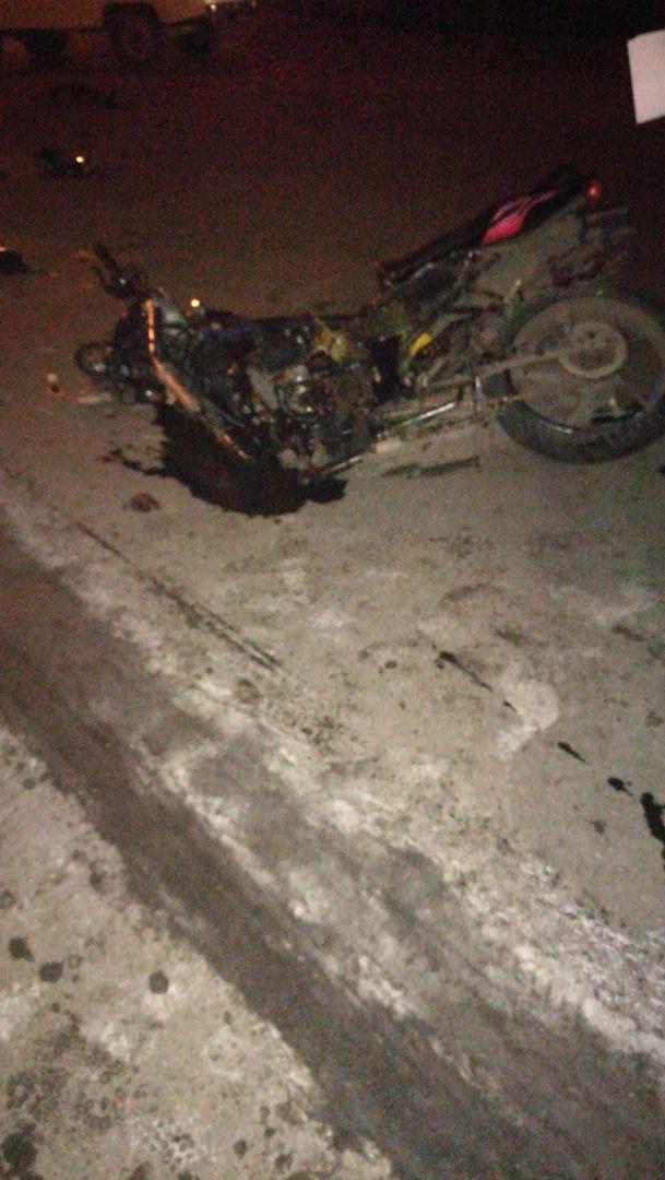 В Прокопьевске при столкновении с автомобилем разбился насмерть мотоциклист