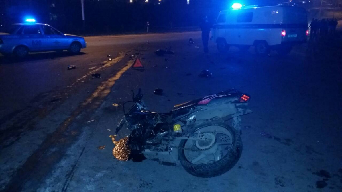 В Прокопьевске погиб 16-летний мотоциклист