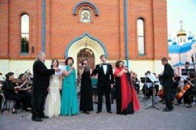 На площади Прокопьевска пройдет концерт симфонического оркестра