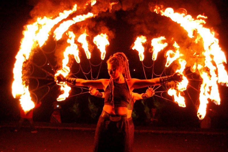 Прокопьевск приглашает на феерическое огненное шоу