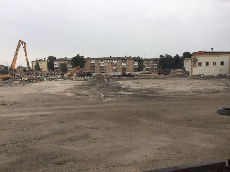 В Кемерове решено отремонтировать кварталвокруг бывшего ТРЦ «Зимняя вишня»