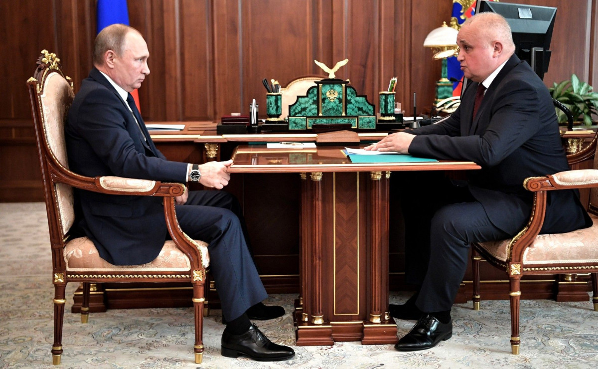 В Кузбасс с рабочим визитом прибыл Владимир Путин