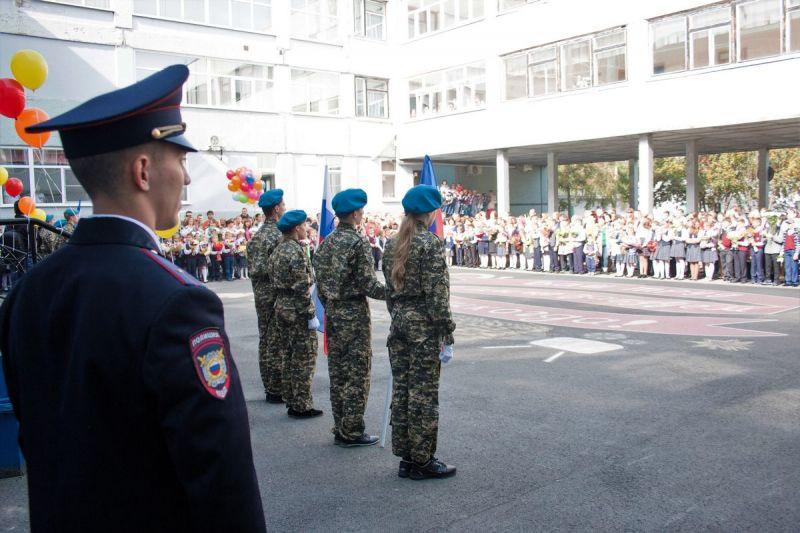 В Кузбассе торжественные линейки в честь 1 сентября пройдут под усиленным контролем полиции