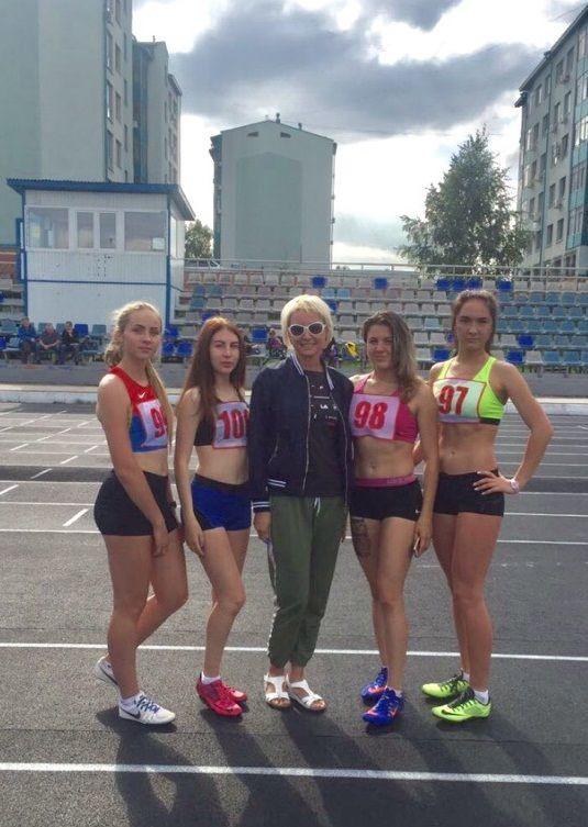 Прокопчанки стали лучшими в Кузбассе по эстафетному бегу