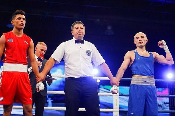 Боксер из Прокопьевска одержал досрочную победу на матчевой встрече Россия - Куба
