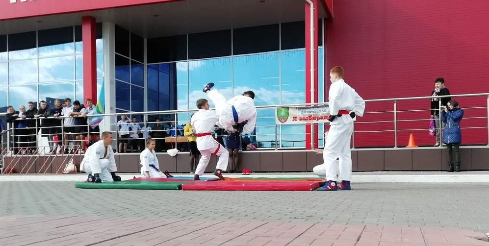 В Прокопьевске состоялся праздник спорта