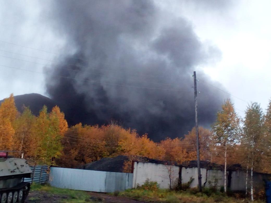 Огромное черное облако напугало прокопчан: стали известны причины случившегося