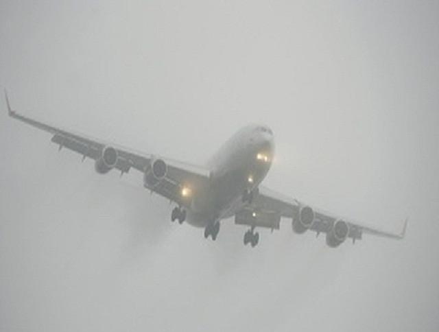 В Кузбассе авиарейсы задержаны из-за густого тумана